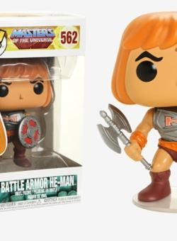 He-Man with Battle Armor Funko Pop 10 cm Nº562 Masters of the Universe