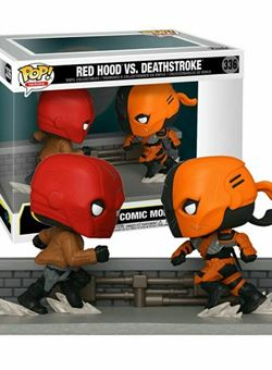 Red Hood Vs Deathstroke Funo Pop Comic Moment 10 cm Nº336 SDCC 2020 Exclusive