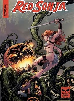 Red Sonja Halloween Special One Shot Cover Reilly Brown