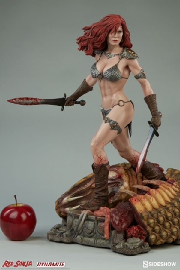 Red Sonja She-Devil with a Sword Premium Format