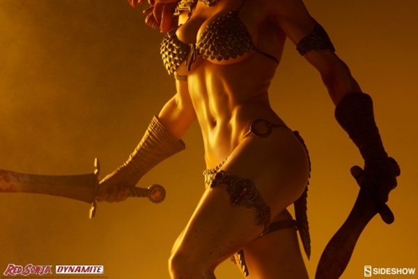Red Sonja She-Devil with a Sword Premium Format Sideshow Collectibles