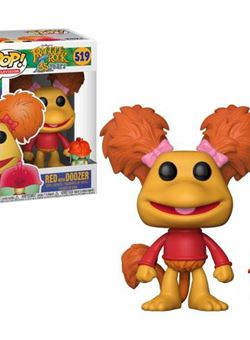Red with Doozer Funko Pop 10 cm Nº519 Fraggle Rock