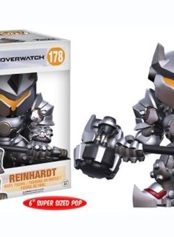 Reinhardt Funko Super Sized Pop Overwatch 15 cm Nº 178