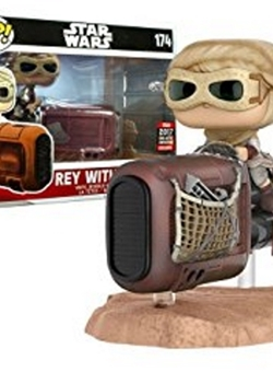 Rey with Speeder Funko Pop 10 cm Nº 174