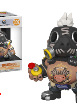 Roadhog Funko Pop 15 cm Nº309