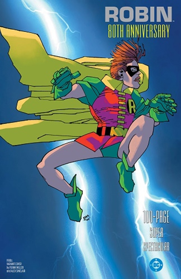 Robin 80Th Anniversary 100 Page Super Spectacular 1980s Variant Cover Frank Miller (March 2020)