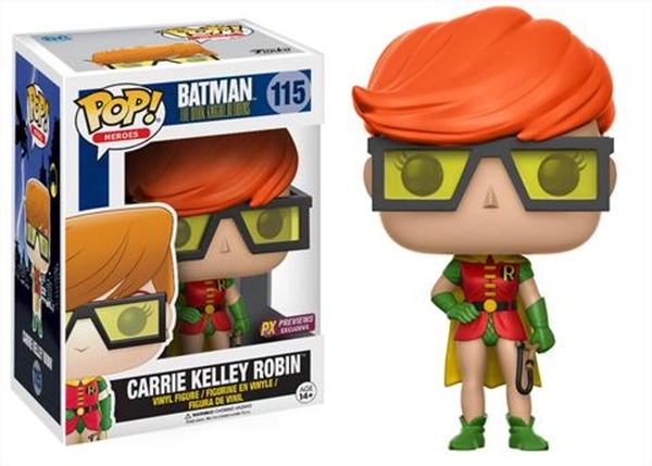 Robin (Carrie Kelley) Funko Pop 10 cm Nº 115 Limitada