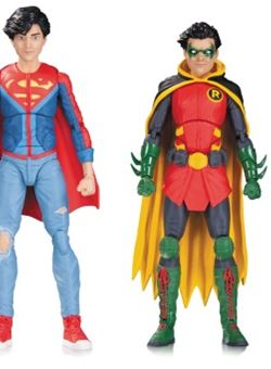 Robin & Superboy Icons Pack de 2 Figuras 12 cm Super Sons