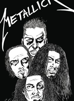 Rock and Roll Biographies Metallica Cover A Mats Engesten (June 2017)