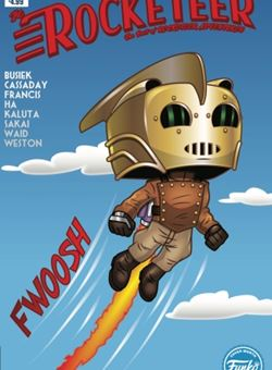 Rocketeer Adventures Funko Art Cover Mike Martin (January 2018)