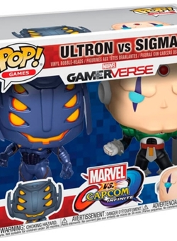 Set Ultron vs Sigma Pop 10 cm Marvel Vs Capcom Gamerverse