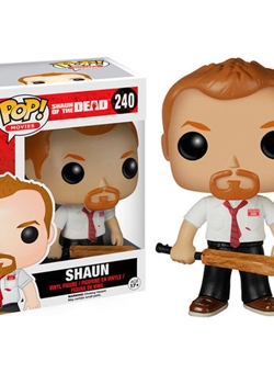 Shaun Pop Vinyl 10 cm Zombies Party Shaun of the Dead Nº 240