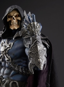 Skeletor sideshow estatua