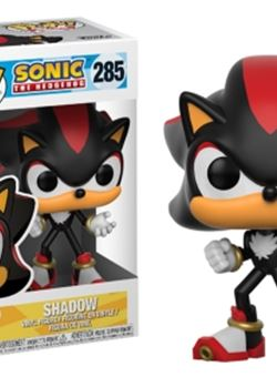 Sonic Shadow funko Pop 10 cm Sonic The Hedgehog Nº285