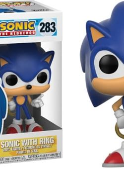Sonic with Ring funko Pop 10 cm Sonic The Hedgehog Nº283