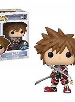 Sora Keyblade Brave Funko Pop Exclusive 10 Cm Kingdom Hearts Nº329