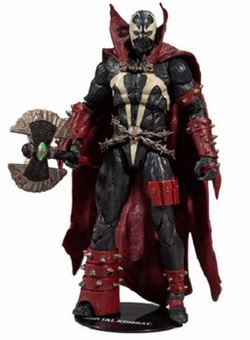 Spawn with Axe Target Exclusive 18 cm Mortal Kombat