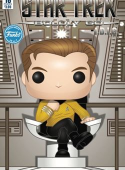Star Trek Boldly Go #16 Funko Art Cover B Mike Martin Art by Angel Hernandez (January 2018)