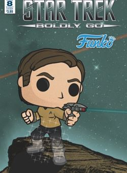 Star Trek Boldly Go #8 Funko Art Cover Tim Gilardi (May 2017)