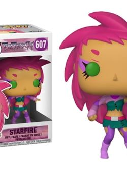 Starfire Teen Titans Go! Funko Pop 10 cm Nº607 The Night Begins To Shine