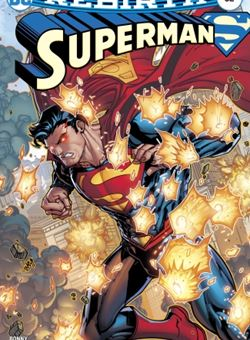 Superman Nº 32 Variant Cover Jonboy Meyers (October 2017)