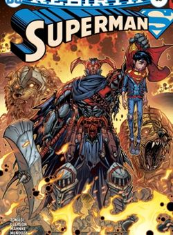 Superman Nº 33 Cover Jonboy Meyers (October 2017)
