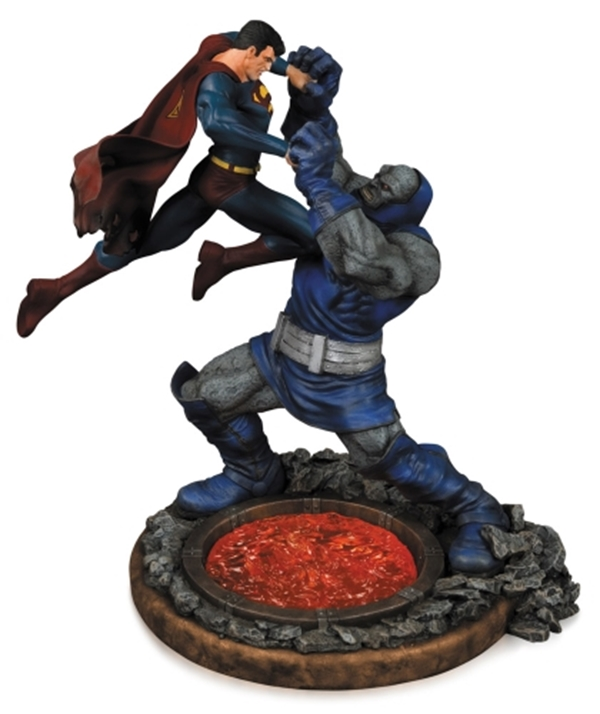 Superman vs. Darkseid 2nd Edition 32 cm Resina