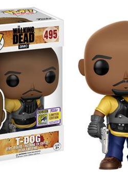 T-Dog Funko Pop 10 cm TWD SDCC 2017 Exclusive Nº 495