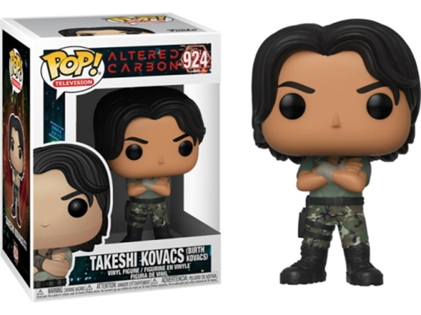 Takeshi Kovacs (Birth) Funko Pop 10 cm Nº924 Altered Carbon Netflix