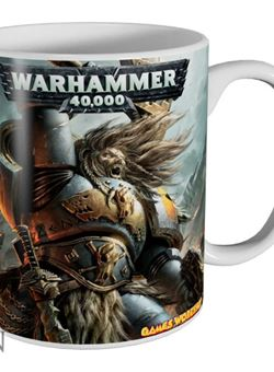 Taza Space Wolves Warhammer 40,000 ceramica