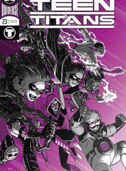Teen Titans Nº23 Cover Foil Nick Derington (October 2018)