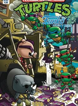 Teenage Mutant Ninja Turtles Funko Universe Cover Nico Pena (May 2017)
