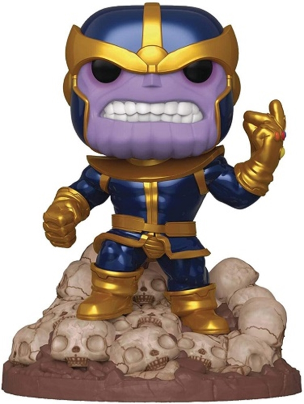 Thanos Snap Funko Pop 15 cm Nº556 Deluxe Previews Exclusive