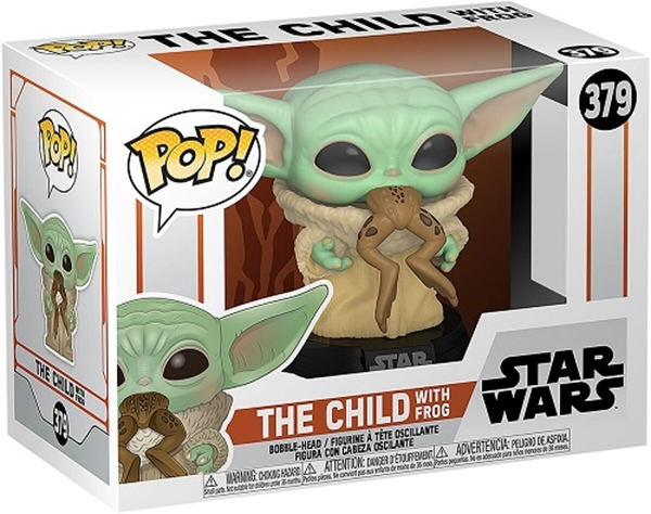 The Child with Frog Funko Pop 10 cm Nº379 The Mandalorian Baby Yoda