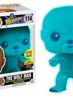 The Wolf Man (Hombre Lobo) Funko Pop 10 cm Universal Monsters Nº 114 GITD