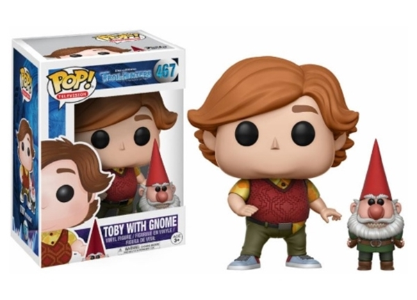Toby with gnome Funko Pop 10 cm Netflix Nº 467