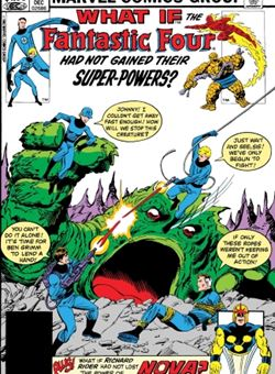 True Believers What If Fantastic Four Had Not Gained Their Powers Nº 1 Cover John Byrne (October 2018)