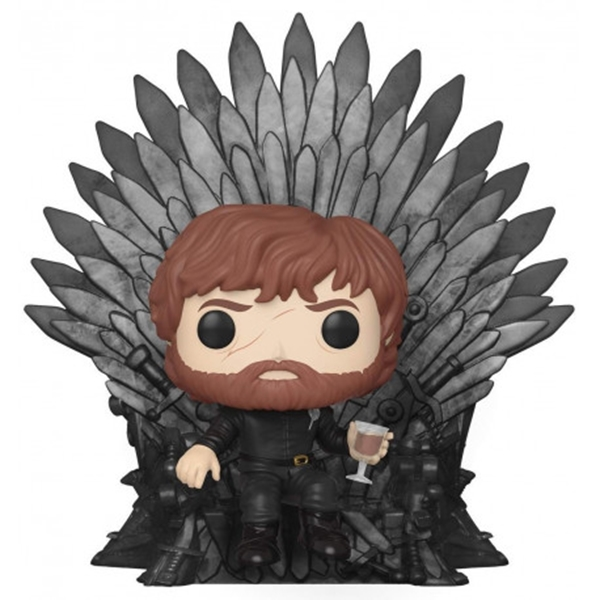 Tyrion Lannister on Iron Throne Funko Pop Deluxe Juego de Tronos 15 cm Nº71