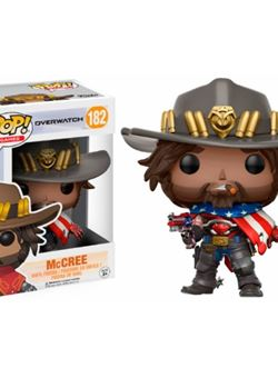 USA McCree Funko Pop 10 cm Exclusive Nº182