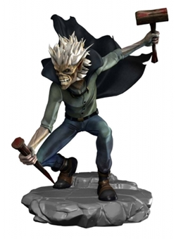 Vampire Hunter Eddie Halloween 10 cm - Iron Maiden Legacy of the Beast PVC Limitada