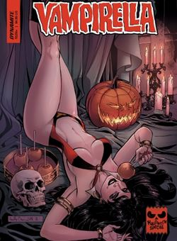 Vampirella Halloween Special One Shot Cover Reilly Brown (October 2018)