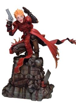 Vash The Stampede Holdup Trigun Badlands Rumble 1/6  23 cm