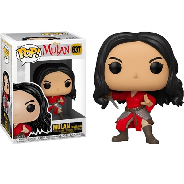 Warrior Mulan (2020) Funko Pop 10 cm Nº637