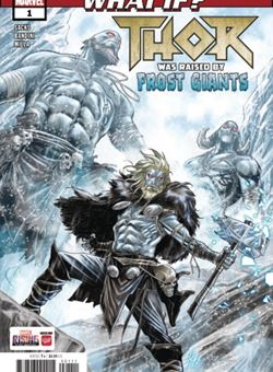 What If? Thor What Raised By Frost Giants Nº 1 Cover Marco Checchetto (October 2018)