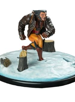 Wolverine Lobezno Marvel Estatua Premier Collection 23 cm