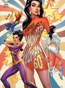 Wonder Woman #750 1960s Variant Cover J. Scott Campbell (January 2020)