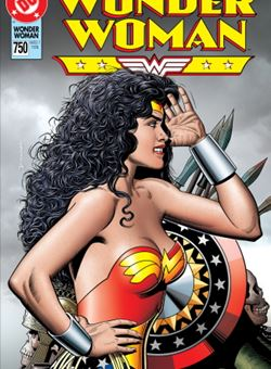 Wonder Woman #750 1990s Variant Cover Brian Bolland (January 2020)