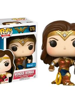 Wonder Woman Movie Battle Pose with Shield Funko Pop 10 cm Nº 175
