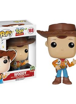 Woody Pop Vinyl 10 cm Toy Story 20 Aniversario Disney Nº 168