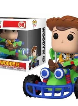 Woody with RC Funko Pop Rides10 cm Toy Story Nº